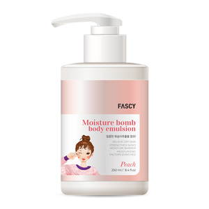 New Moisture Bomb Body Emulsion(Peach)